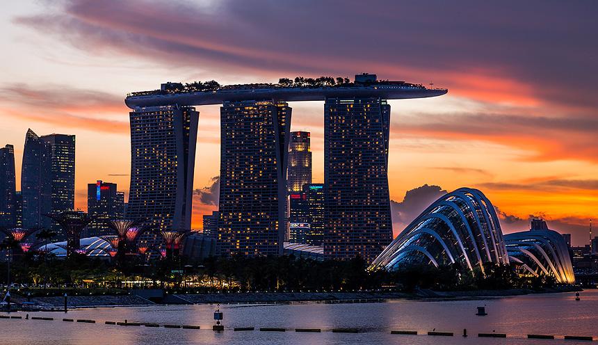 Viaggio a Singapore con mare a Khao Lak