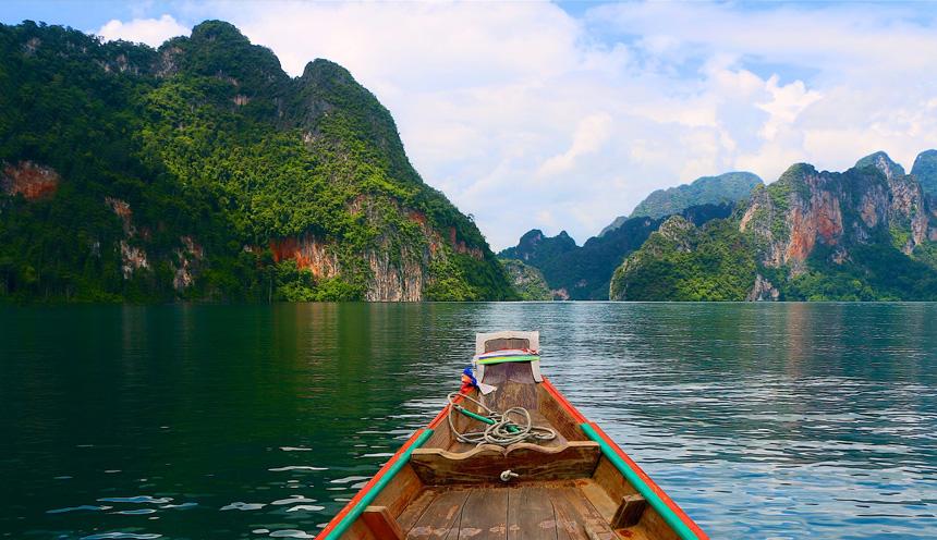 Tour della Thailandia con visita al parco di Khao Sok e mare a Phuket e Koh Samui