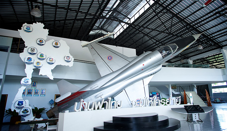 Il Royal Thai Air Force Museum di Bangkok