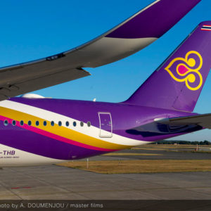 A350 Thai Airways per Roma e Milano