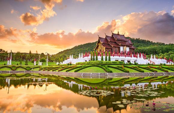 Chiang Mai in libertà ed estensione mare