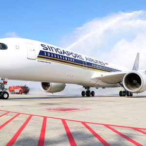 Singapore Airlines introduce l'Airbus A350 su Milano