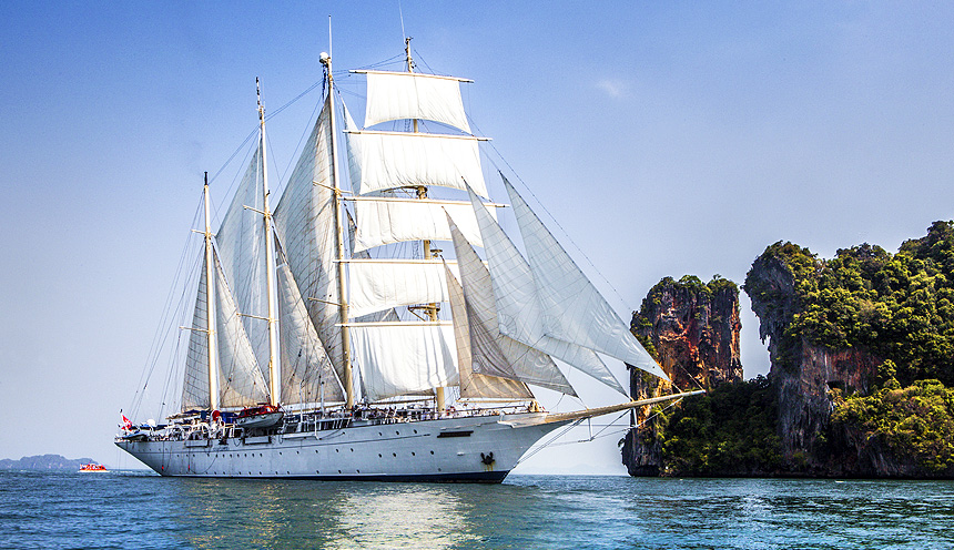 Crociera Star Clippers da Singapore a Phuket