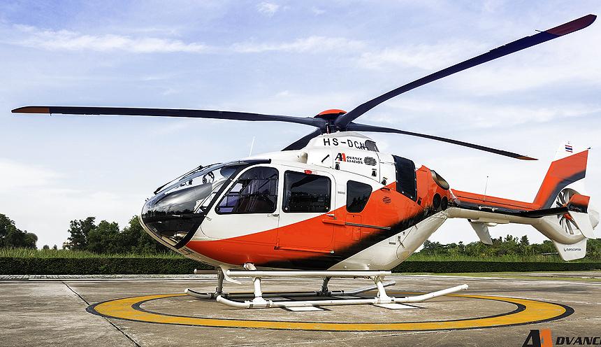 Volo panoramico in elicottero a Bangkok
