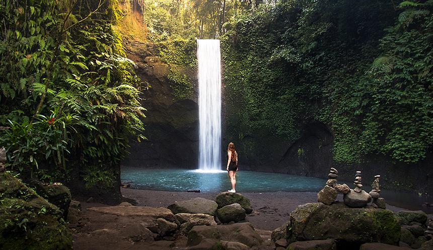 Tibumana-Waterfall
