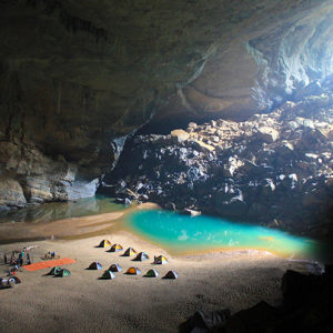 A dormire nella Hang En Cave!