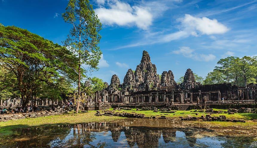 Imponenti templi khmer