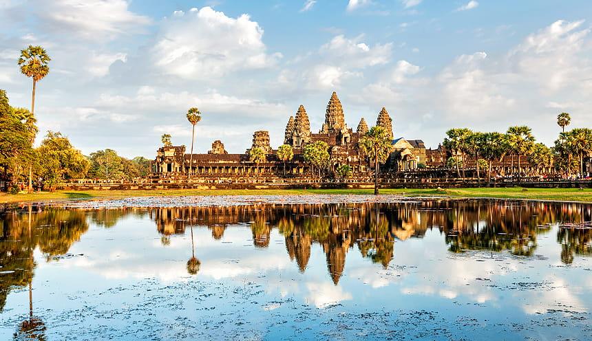 La mitica Angkor Wat