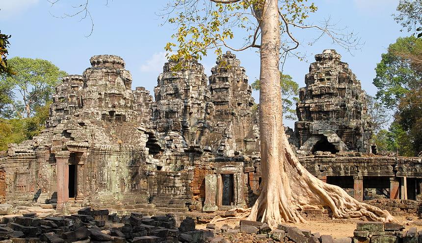 Rovine khmer dalle molte forme