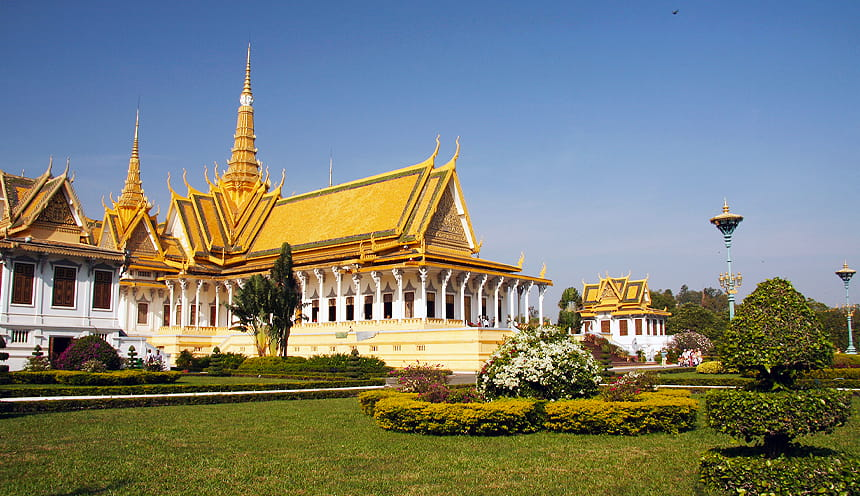 Il palazzo reale di Phnom Penh