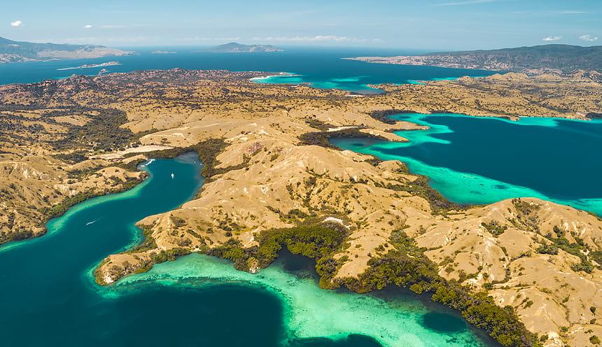 Particolare isole di Komodo