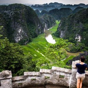 Ninh Binh, tra risaie, grotte e templi