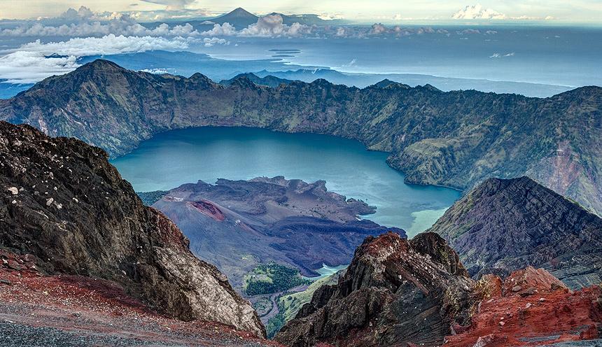 Il Monte Rinjani