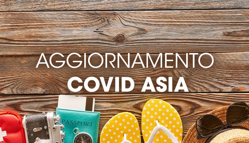 Aggiornamento apertura paesi post-Covid