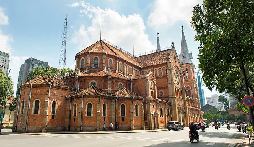 Uno dei siti storici di Ho Chi Minh
