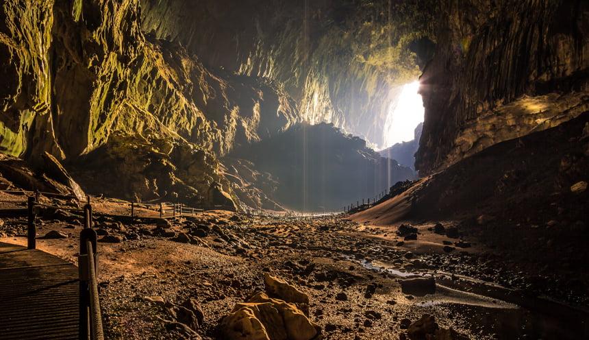 La caverna chiamata Deer Cave