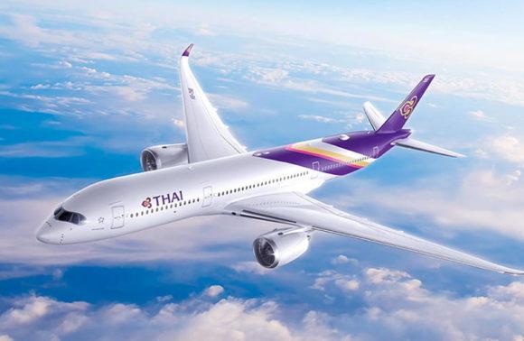 La Thai Airways torna a volare dall'Italia